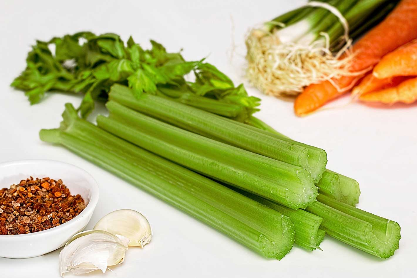celery juice benefits for hair